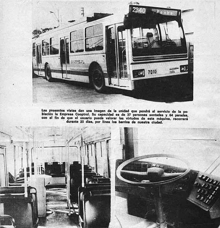 Moderní vůz na zkouškách. (zdroj: archiv Marcelo Benoit)