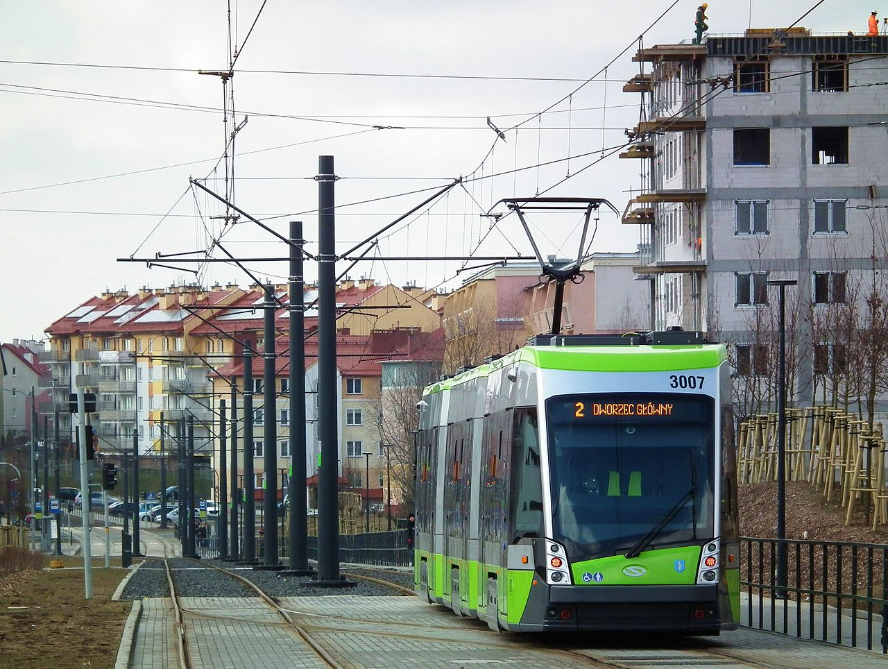 15 vozů nestačí. Město by rádo mělo již v roce 2019 k dispozici celkem 29 tramvají. (zdroj: Wikipedia.org)
