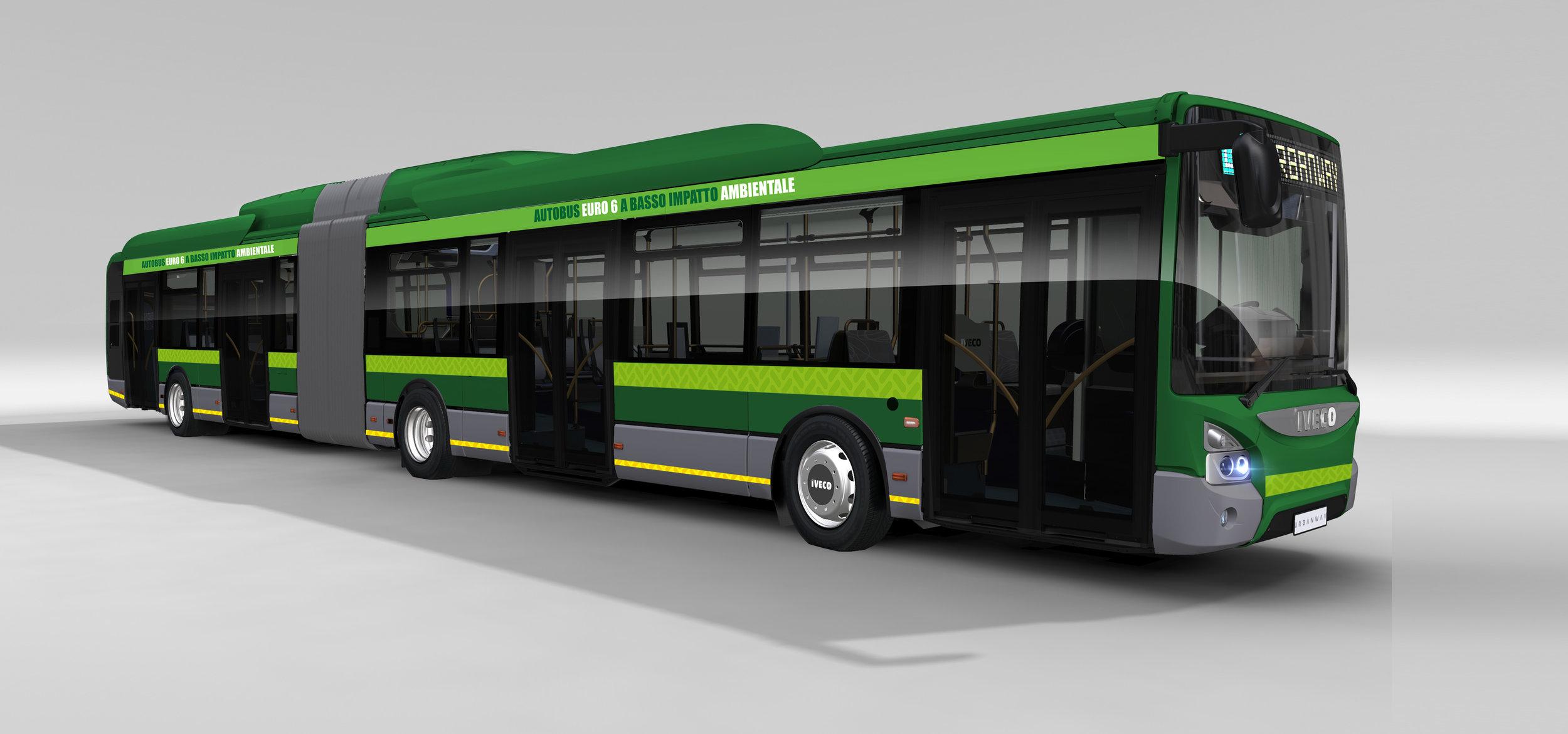 120 hybridních Urbanwayů 18m zamíří do Milána. (zdroj: Iveco Bus)