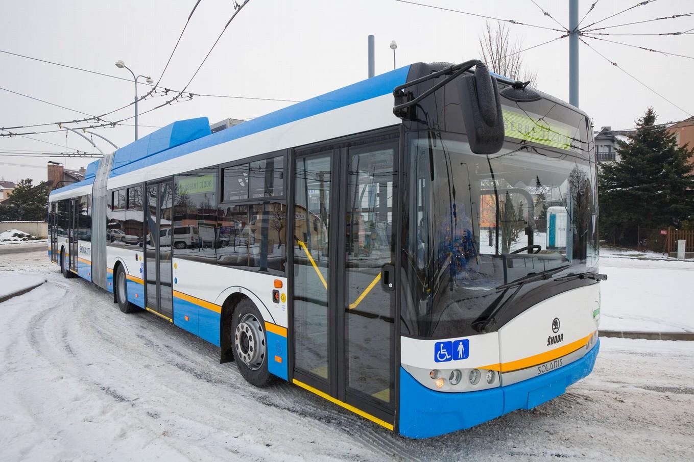 Trolejbus Škoda 27 Tr pro Ostravu. (foto: Škoda Electric)