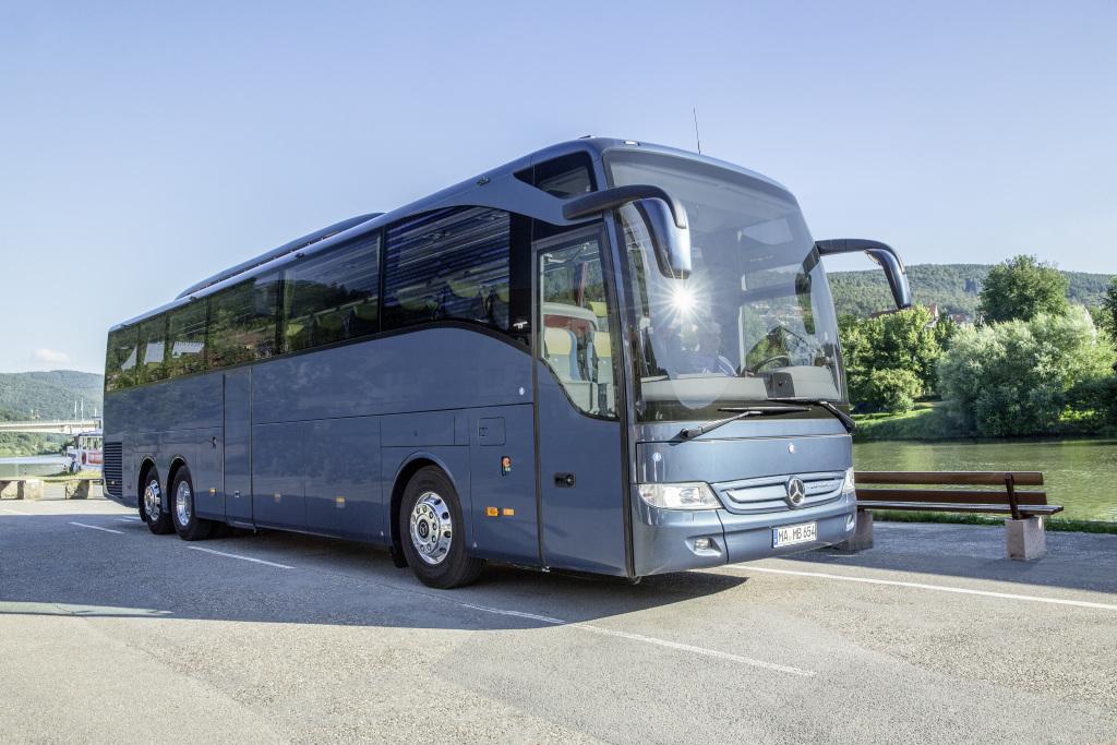Současné provedení Tourisma (zde ve verzi Tourismo 16 RHD M/3). (foto: EvoBus)