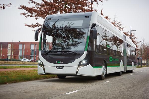 Vizualizace designového a barevného provedení elektrobusů pro Groningen. (foto: VDL Bus & Coach)