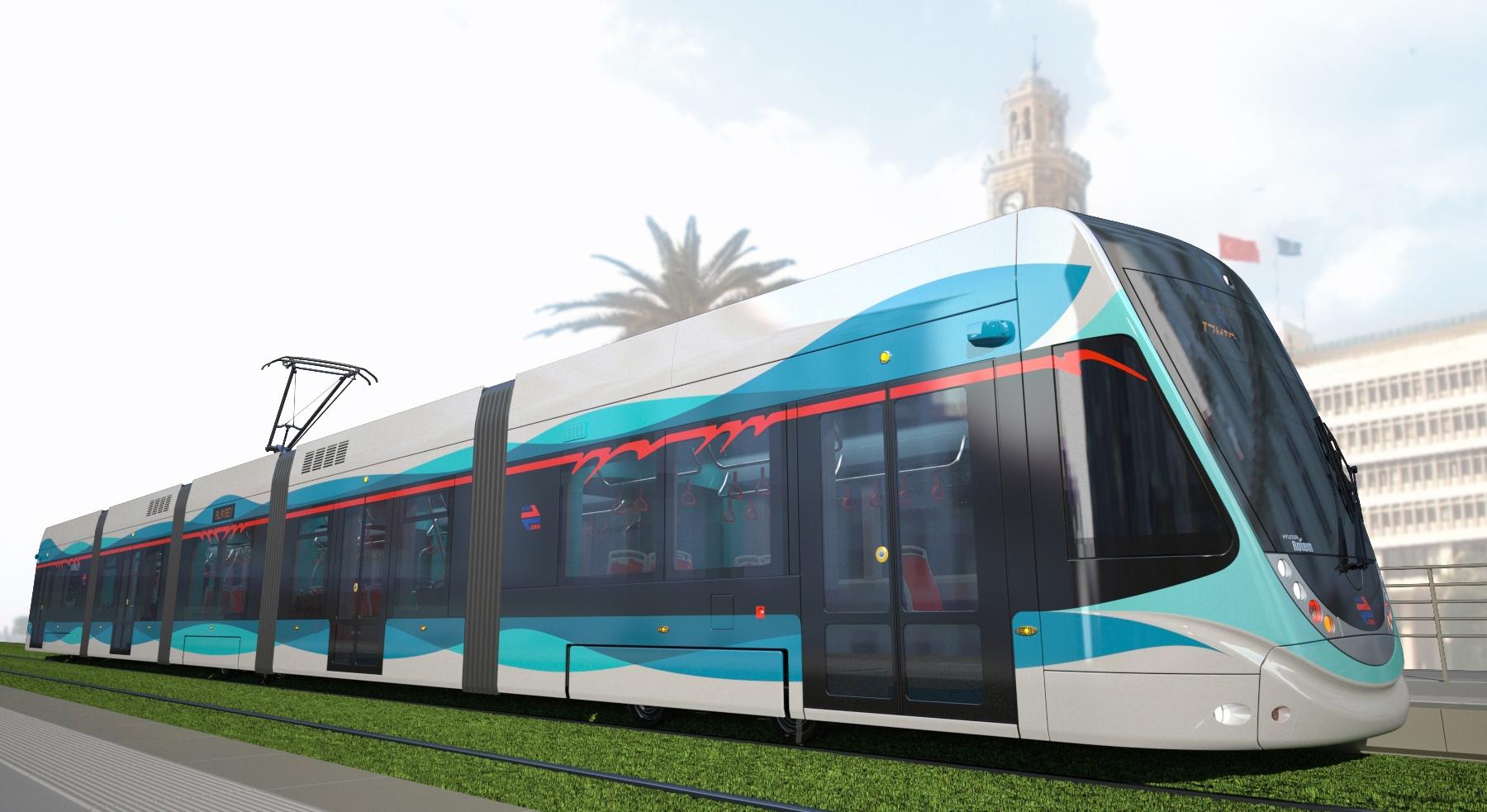 Tramvaj Hyundai Rotem pro turecký Izmir. (zdroj: Hyundai Rotem)