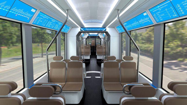 Návrh interiéru tramvaje. (foto: HKL)