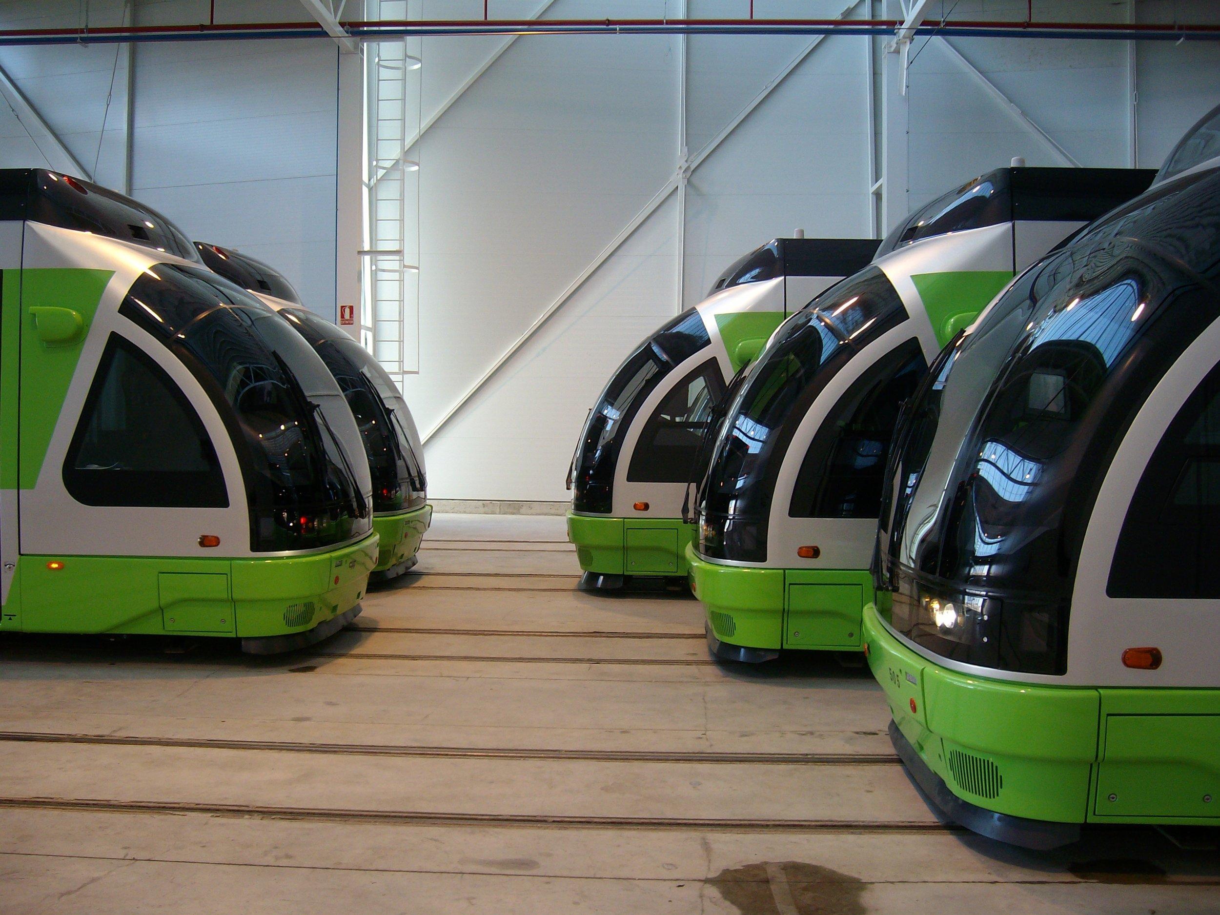 Pohodlné zázemí pro vitorijské tramvaje.(foto: Juanjo Olaizola Elordi)