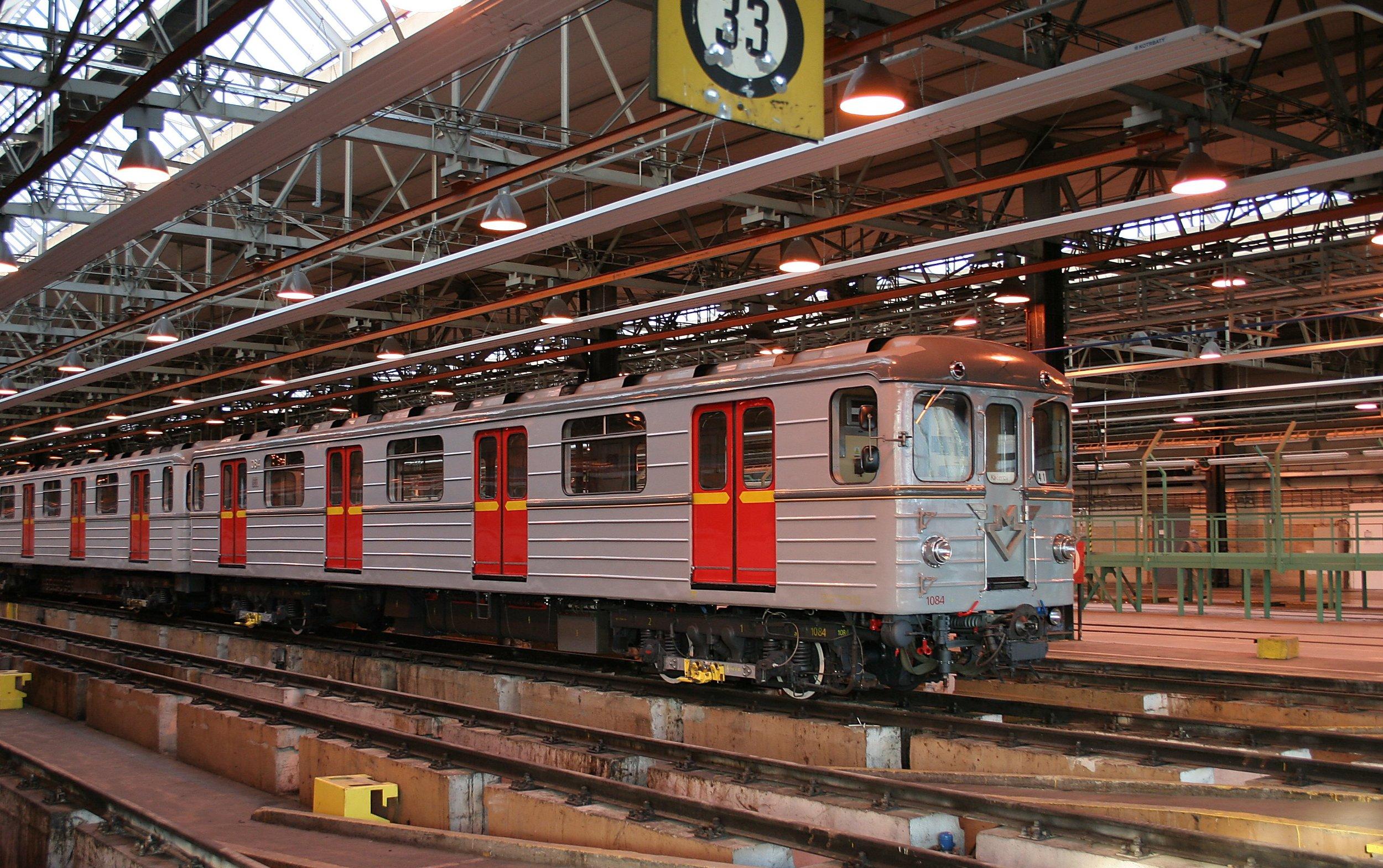 Metro typu Ečs v Praze. (zdroj: Wikipedia.org)