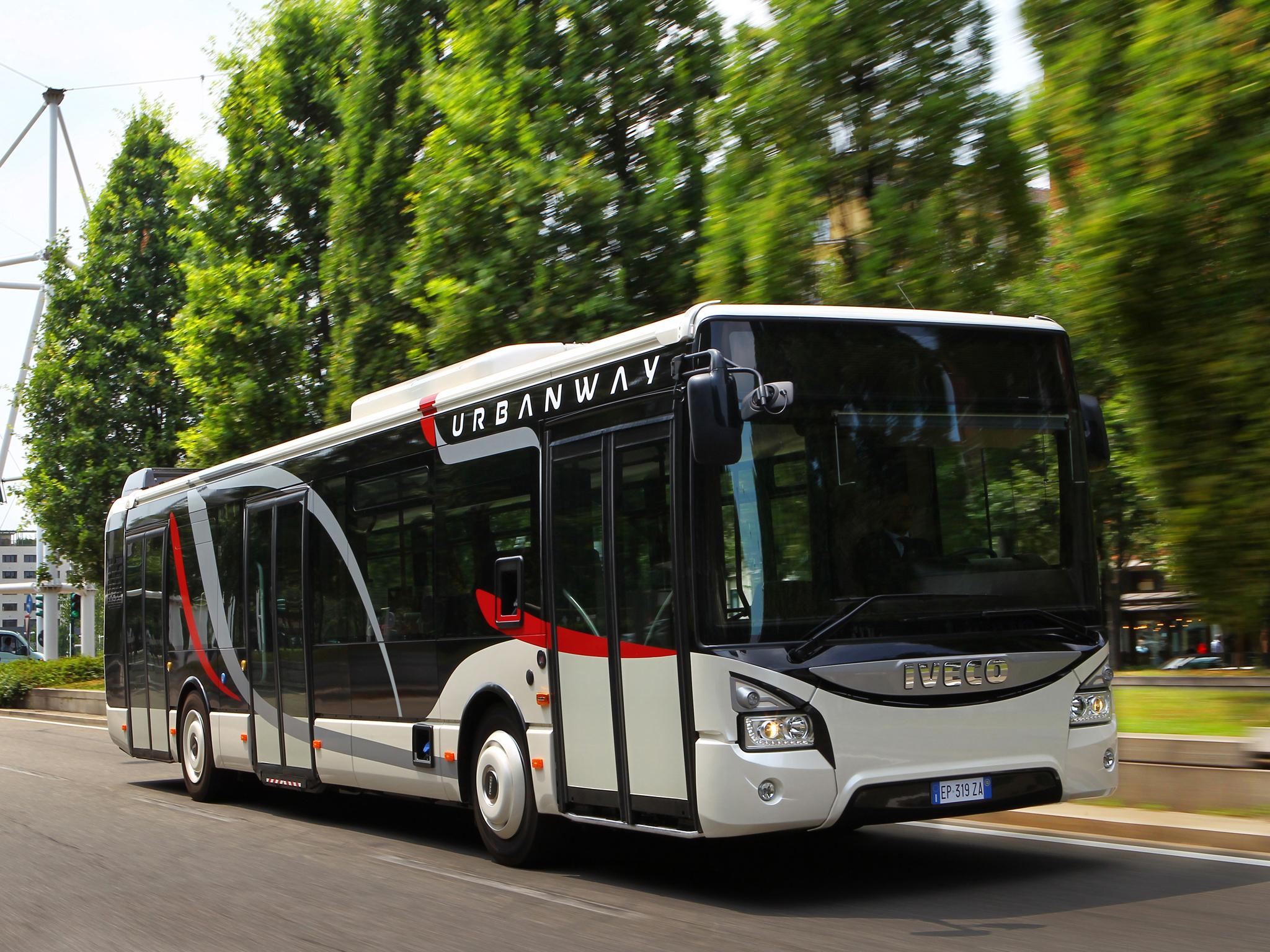Novinkou na Slovensku budou hybridní autobusy. Dodat je má Iveco Bus. (ilustrační foto: Iveco Bus)