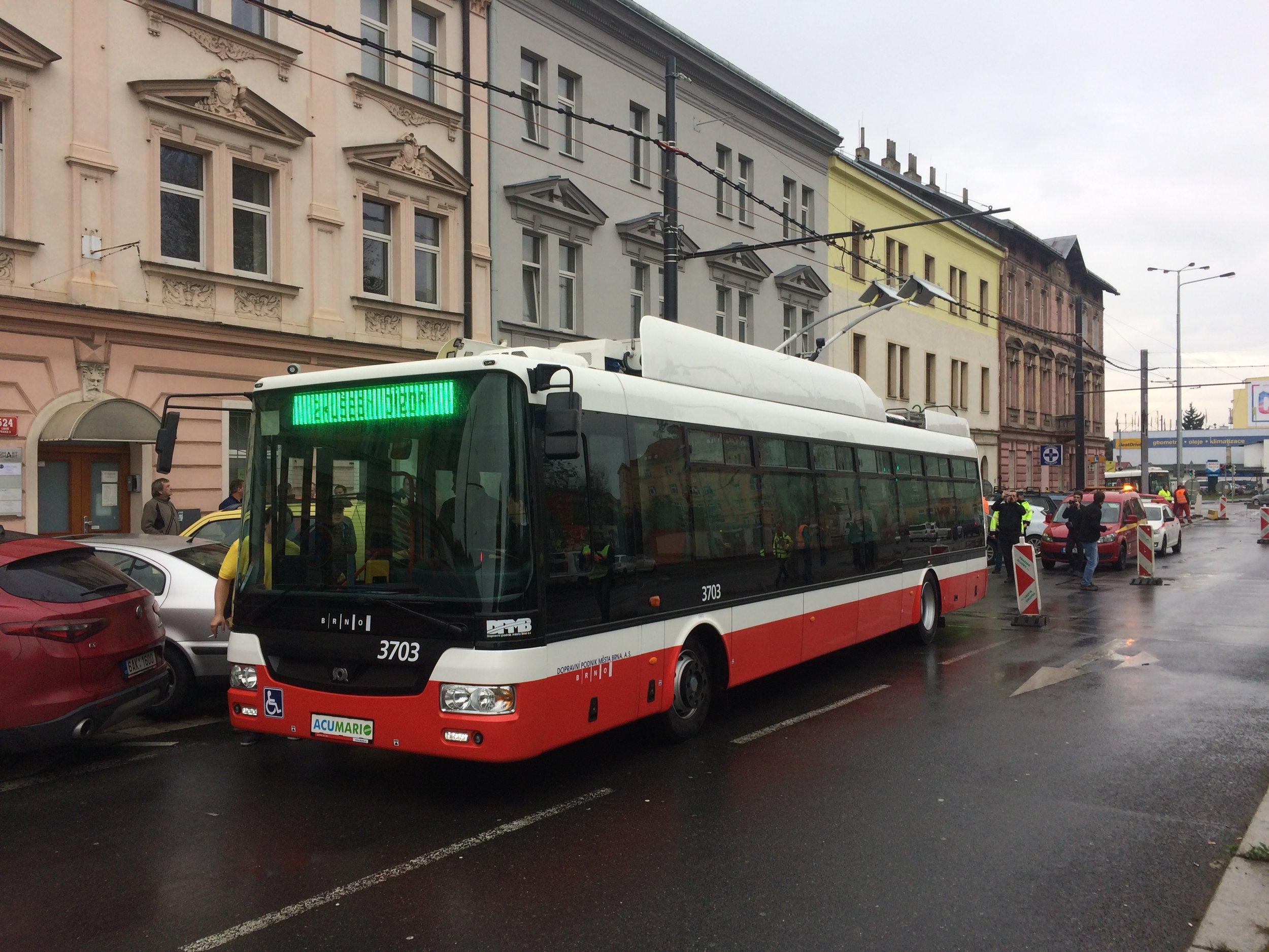 Snímek z prvního natrolejování dne 10. 10. 2017. (foto: Libor Hinčica)