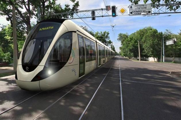 Vizualizace možné podoby tramvaje. (zdroj: kapital.kz)