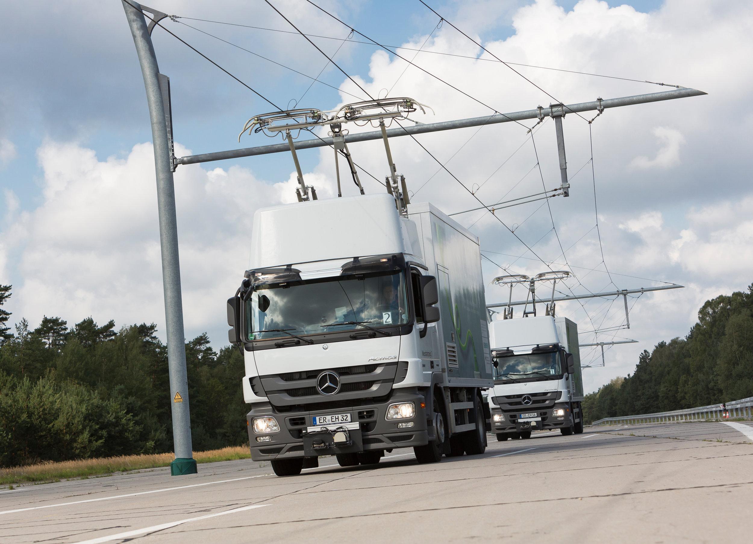 Řešení Siemensu v kombinaci s vozidly Mercedes-Benz. (foto: Siemens)