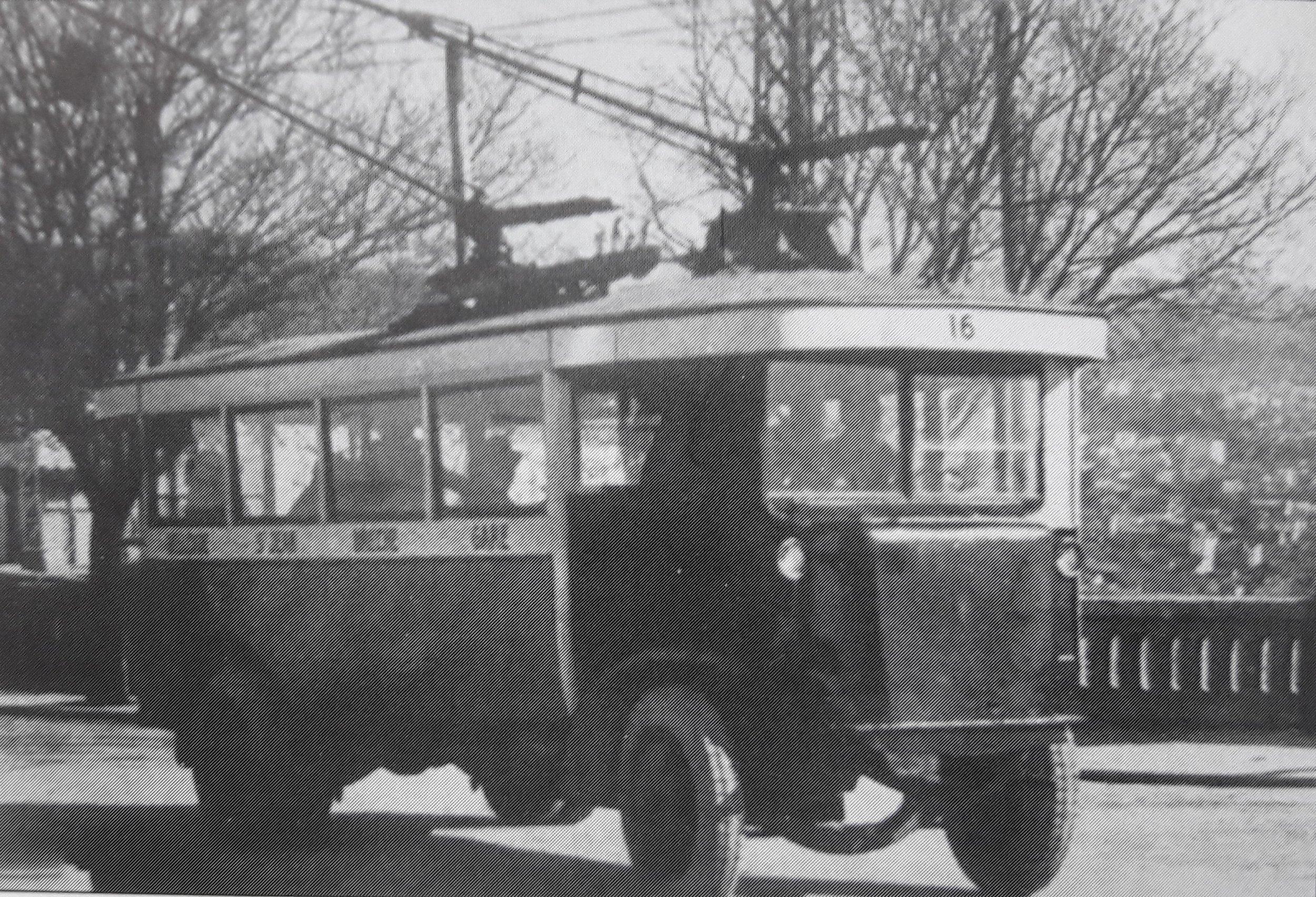 Vůz typu O.T.C. 2 ev. č. 16 (zdroj: archiv G. Mullera)