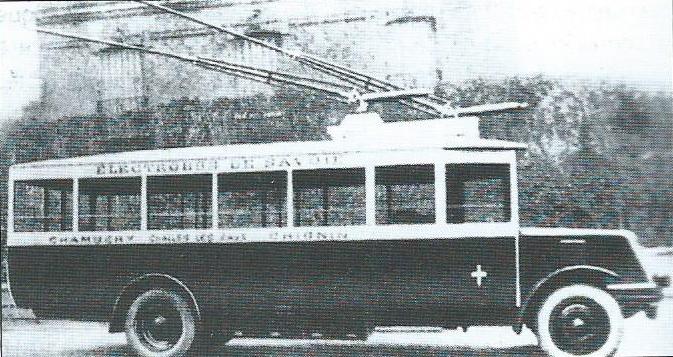 Vůz O.T.S.C. v Chambéry na snímku z roku 1930. (foto: VETRA / archiv G. Mullera)