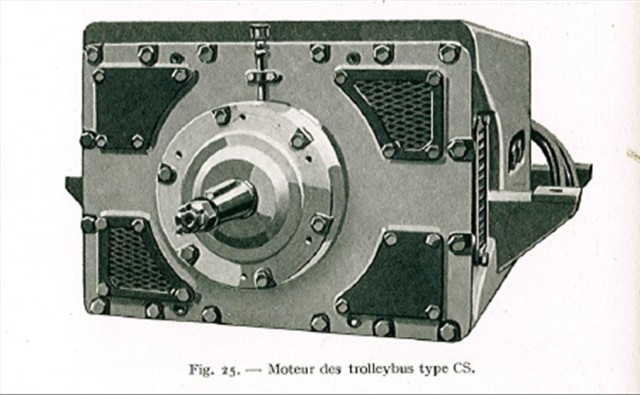 Motor řady TS pro vozy typu CS. (zdroj: VETRA / archiv ČsD)