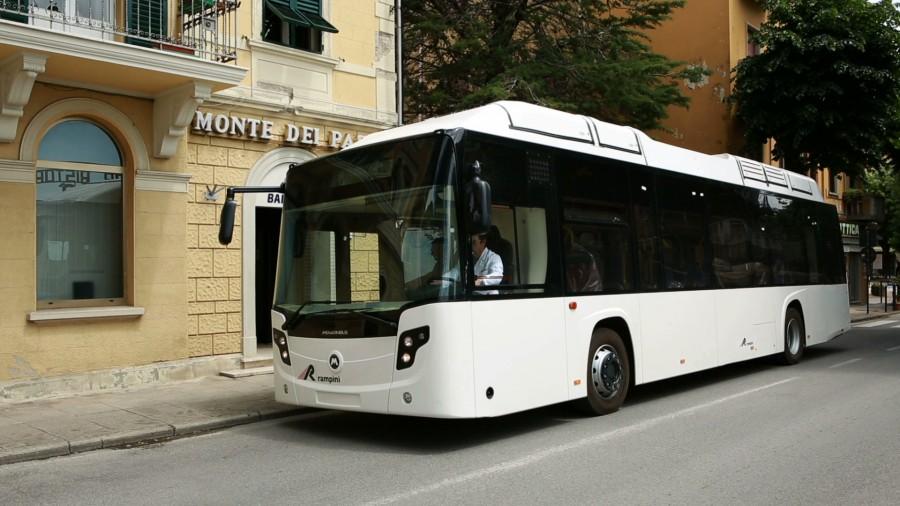 12m elektrobus by měl odpovídat typu Rampini E120 Electric. (foto: Rampini)
