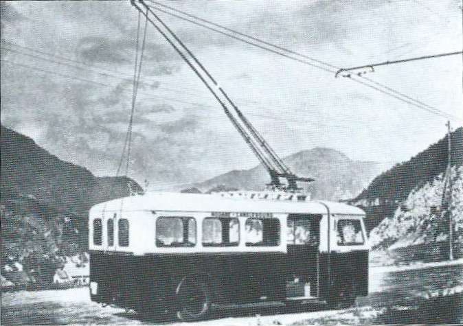 Trolejbus typu CSP 40 jezdil v Savojsku.(foto: RDTS / archiv G. Mullera)