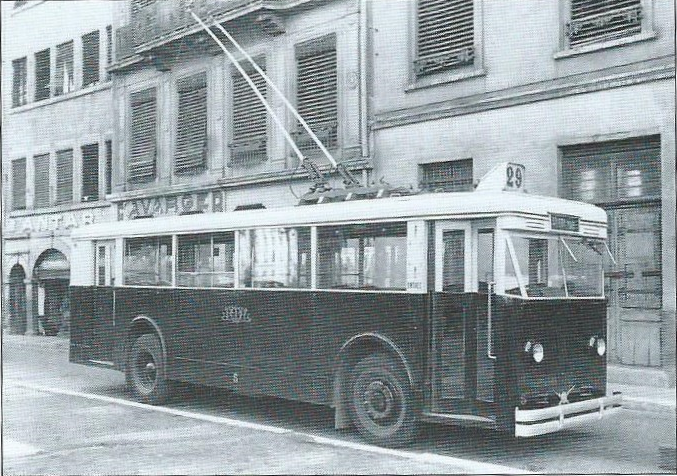 Lyonský vůz typu CS 60. (foto: OTL / archiv G. Mullera)