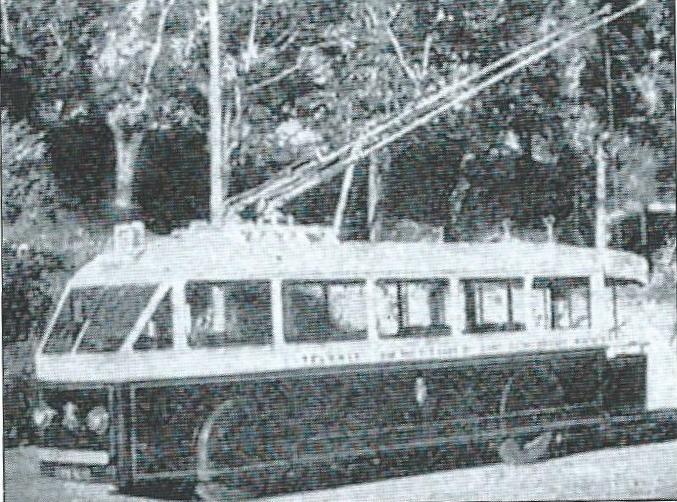 První čtyři vozy typu měly oplechovanou dřevěnou skříň. (foto: archiv Jean Capolini)