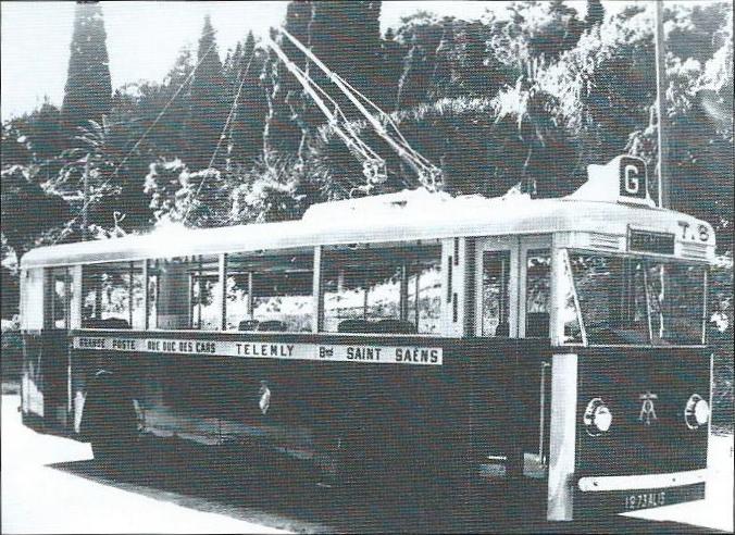 První sériové vozy typu CS 60 v majetku společnosti Tramways Algériens obsluhovaly linku do čtvrti Télemly, odtud také jejich přezdívka.