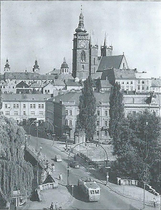 Na snímku z roku 1953 vidíme Vetru v Hradci Králové. (foto: sbírka Ph. Valla)
