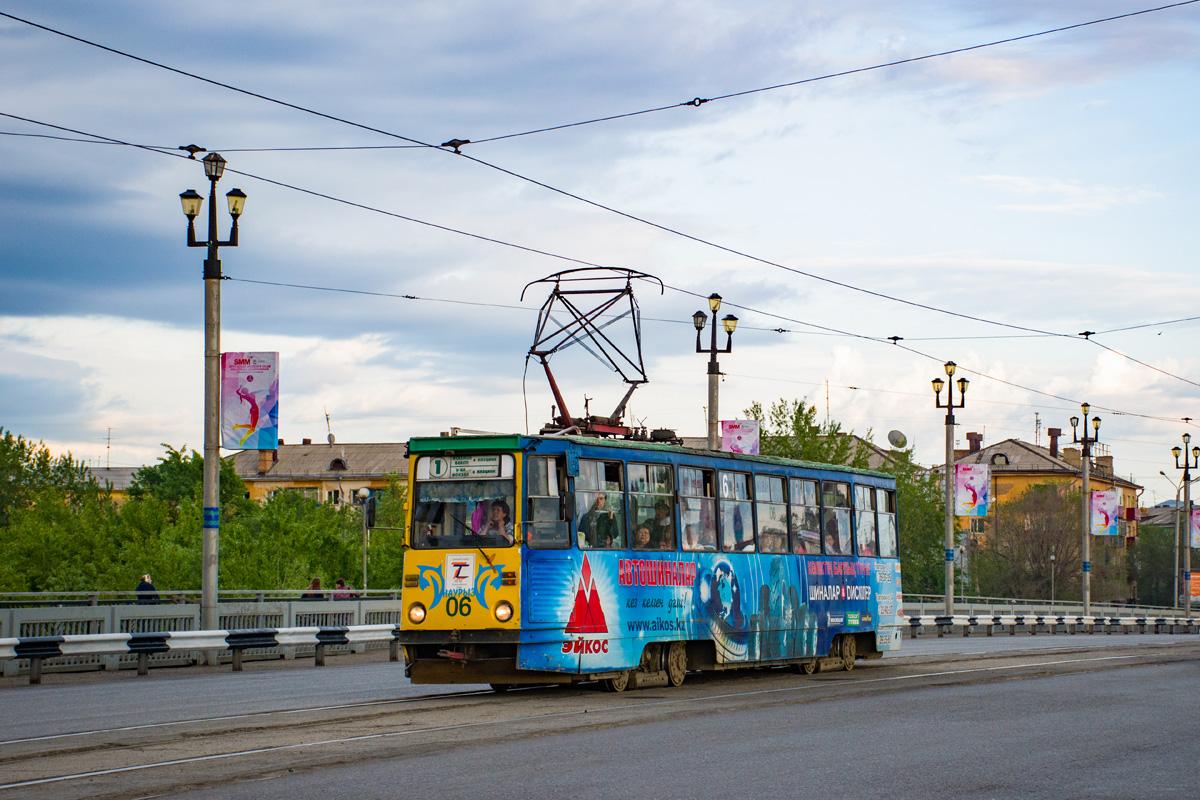 Ul'binskij most s tramvají dne 11. května 2017. (foto:Valerij Kozlov)