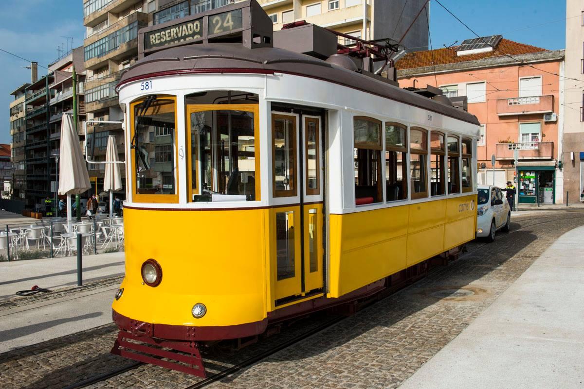 Ještě dva snímky žlutých krasavic. (foto: 2x Câmara Municipal de Lisboa)