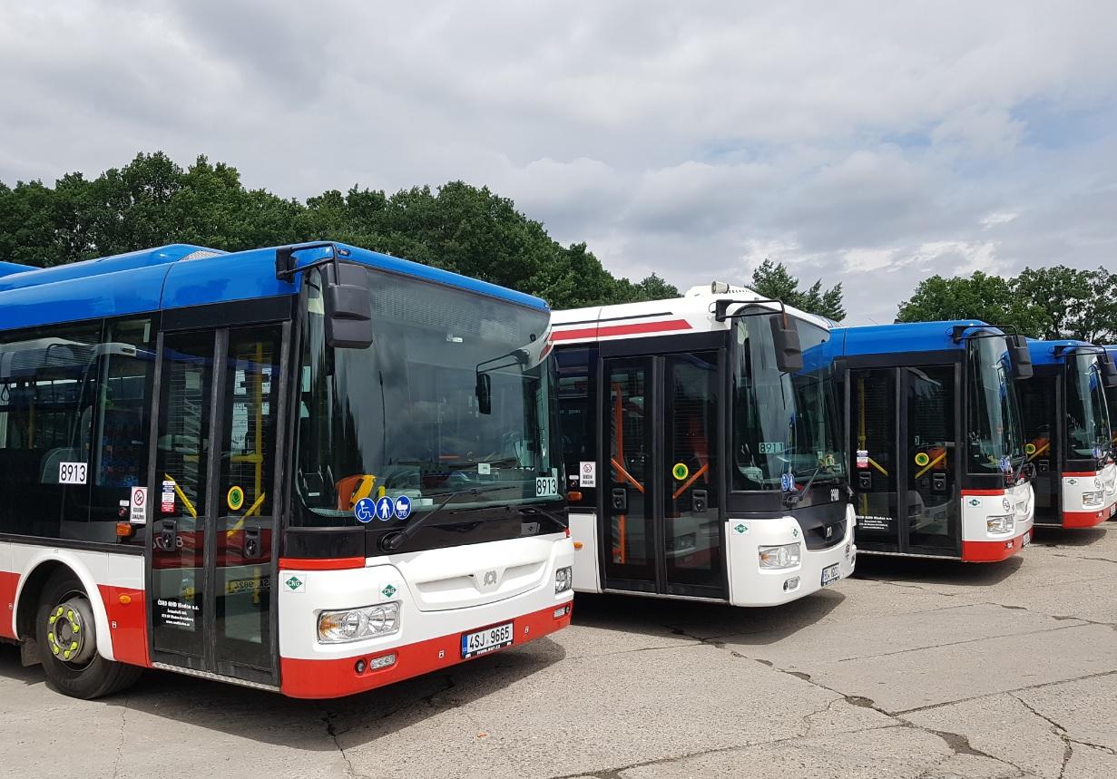 Autobusy SOR NB 18 CITY pro MHD v Kladně. (foto: ČSAD MHD Kladno)