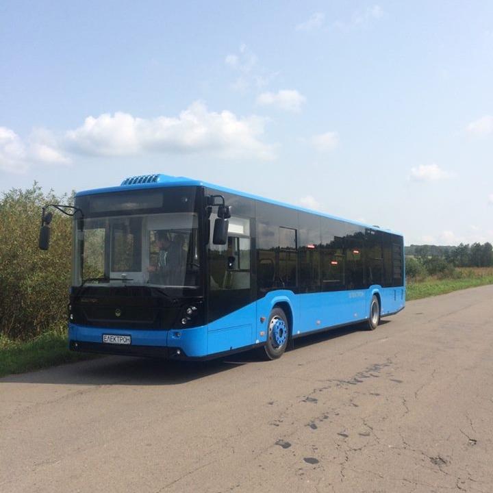 Autobus Electron pro Užhorod na testovací jízdě. (foto: město Užhorod)