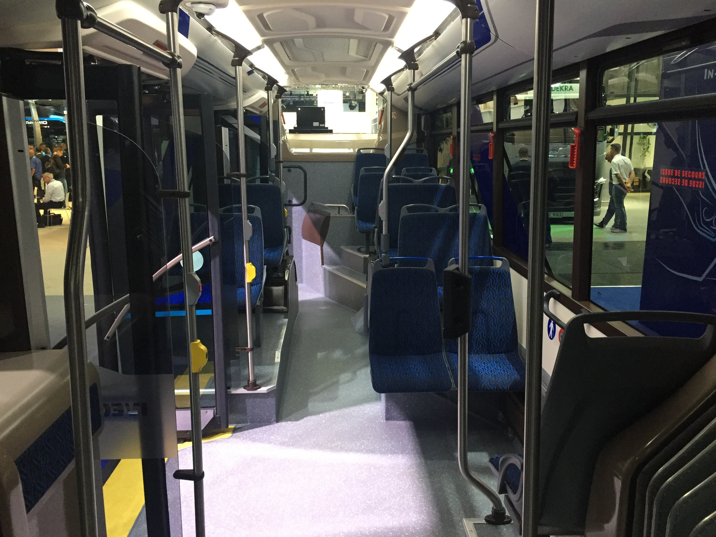 Pohled do upraveného interiéru vozidla. (foto: Libor Hinčica)