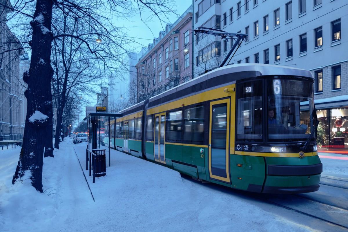 Tramvaj ForCity Smart Artic ve finských Helsinkách. (foto: Škoda Transportation)