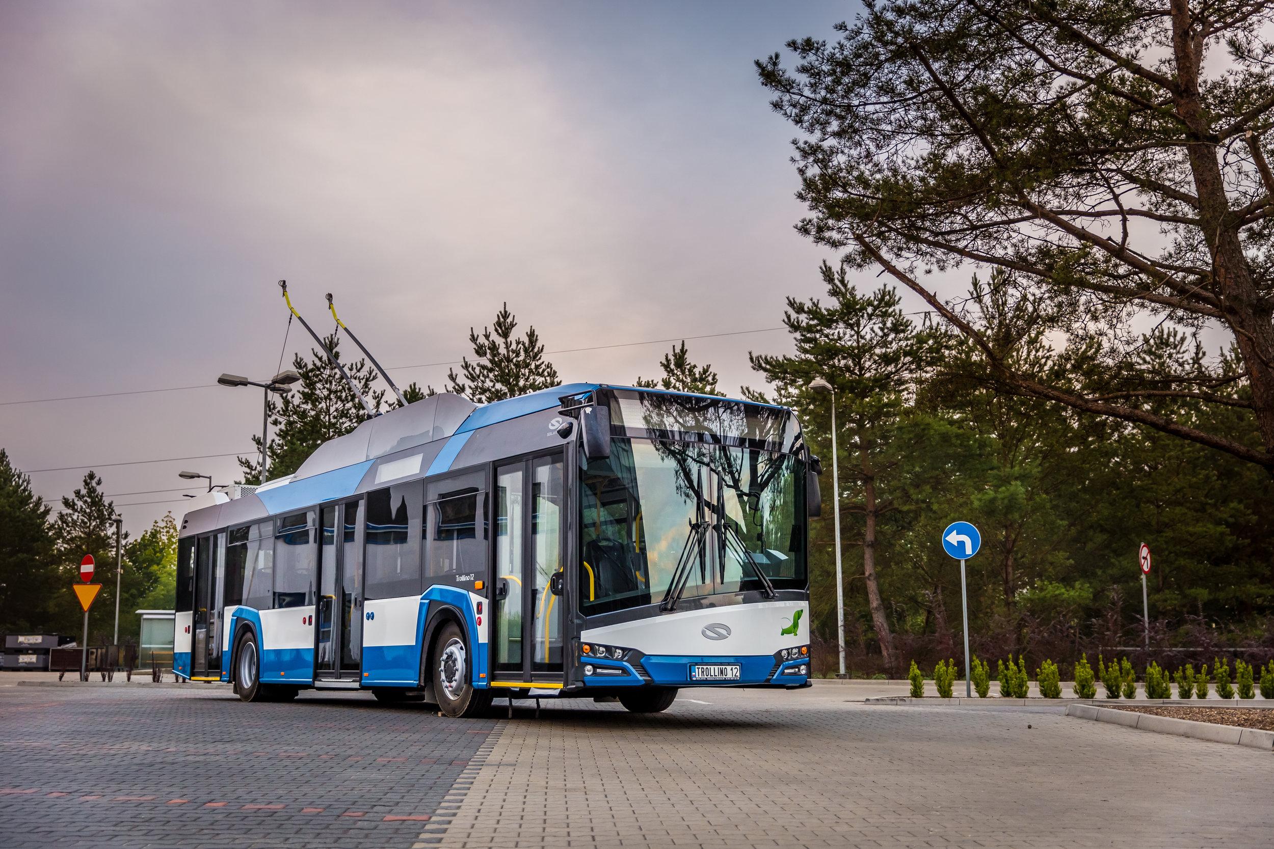 Trolejbus Solaris Trollino 12. (foto: Solaris Bus & Coach)