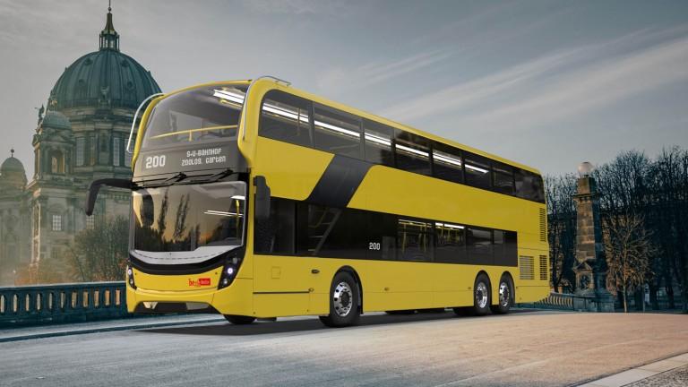 Takto by měla vypadat nová generace patrových autobusů pro Berlín. (foto: Alexander Dennis)