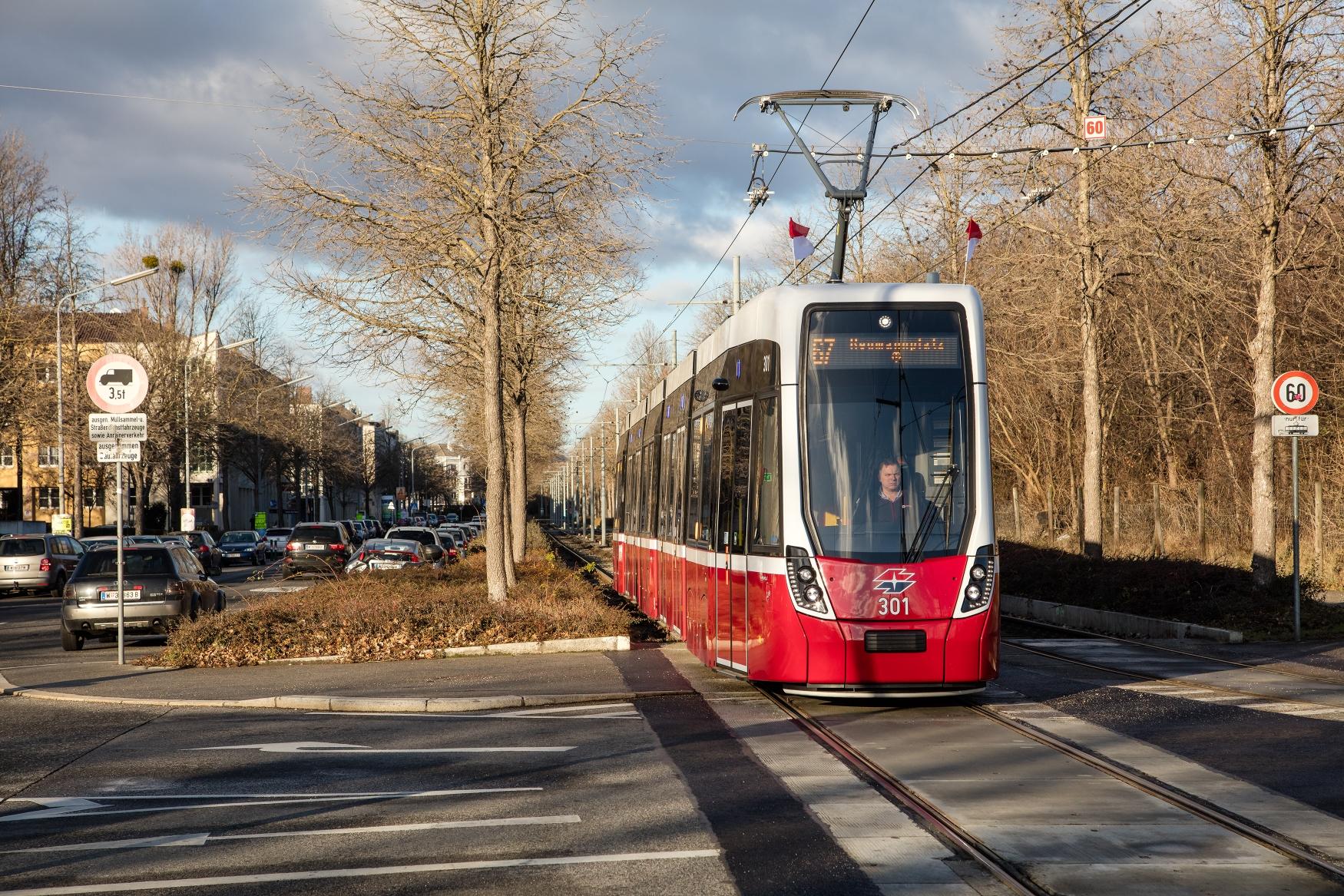 Bombardier Flexity Wien. (foto: Wiener Linien)