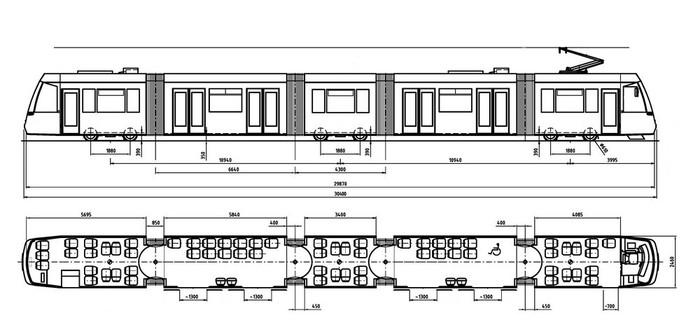 Šestidveřová verze modelu C-05. (zdroj: TRAM FOR ENVI s.r.o.)