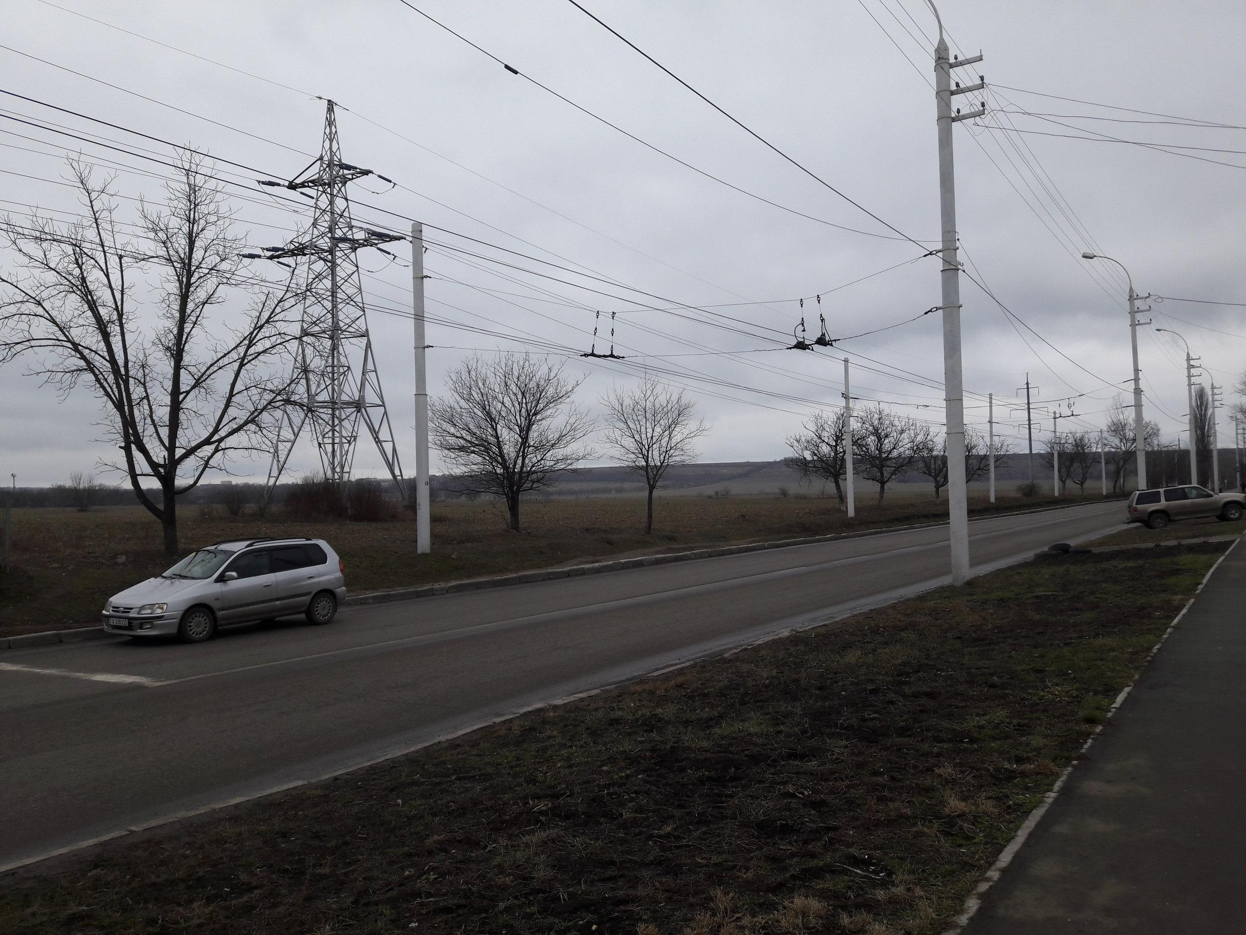 Procházka po jihozápadním úseku okružní linky č. 4.