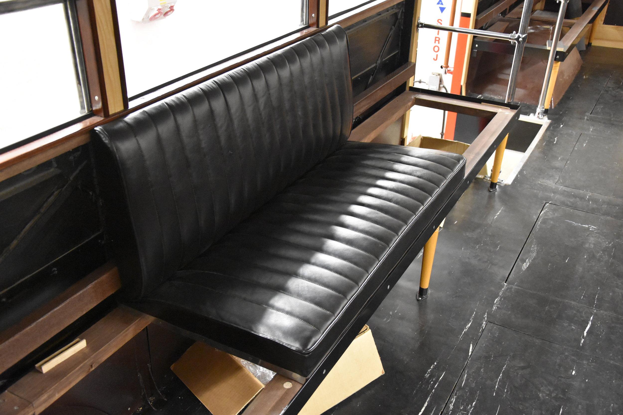 Detail sedadla. (foto: Libor Hinčica)