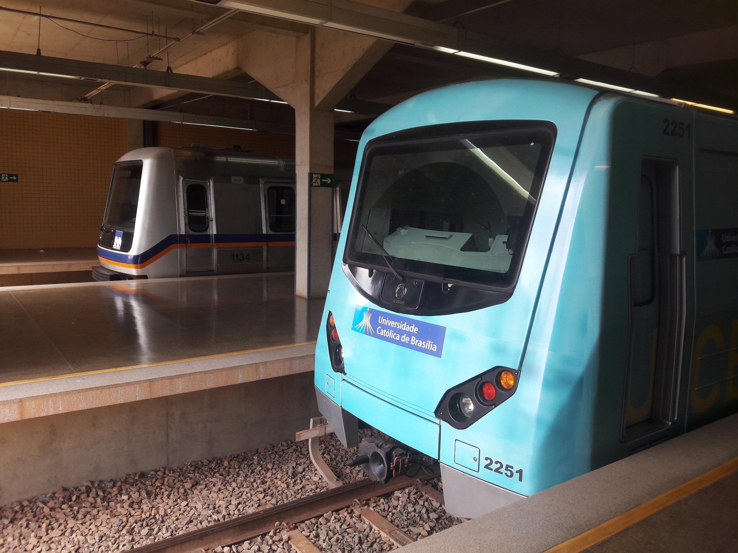 Terminal Samambaia. Konečná stanice.
