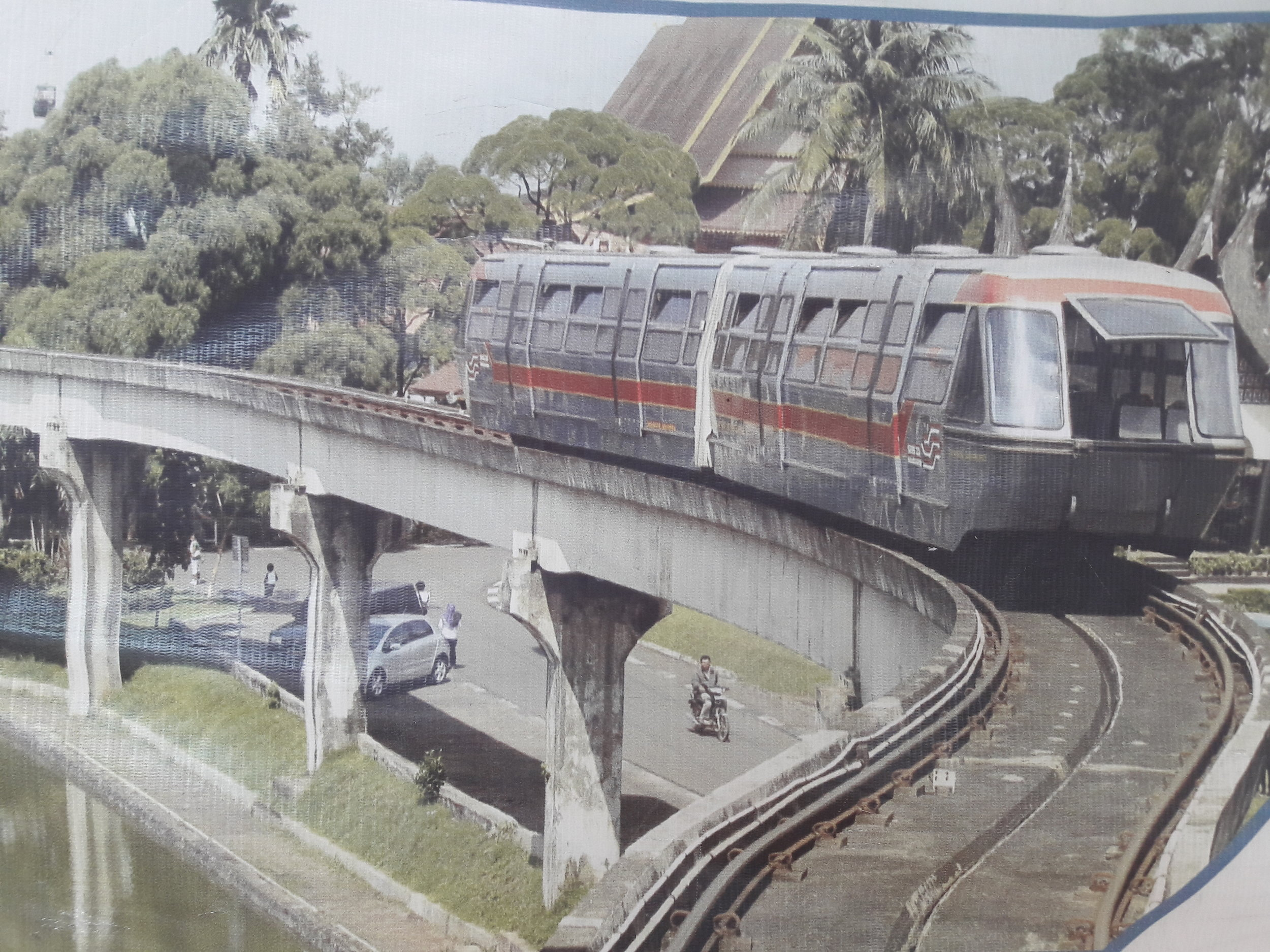 Snímek z projektu v Jakartě.