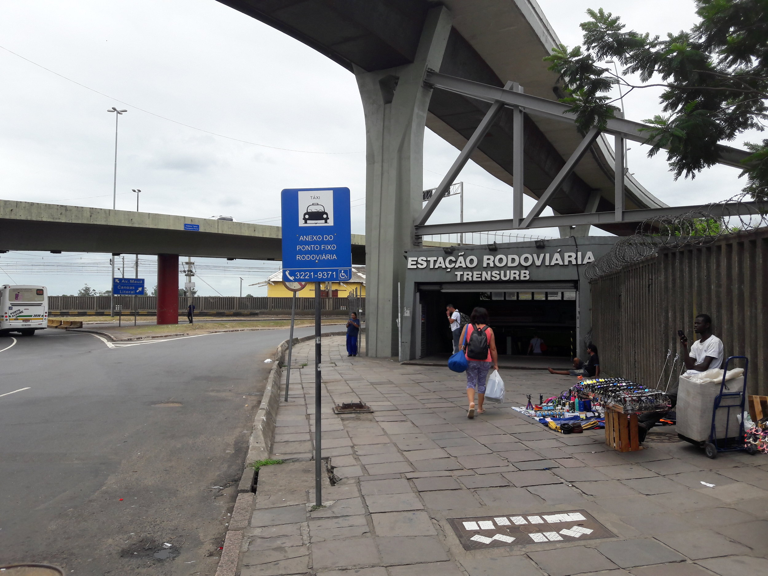 Koncový úsek od předposlední stanice při autobusovém nádraží k výchozí stanici Mercado.