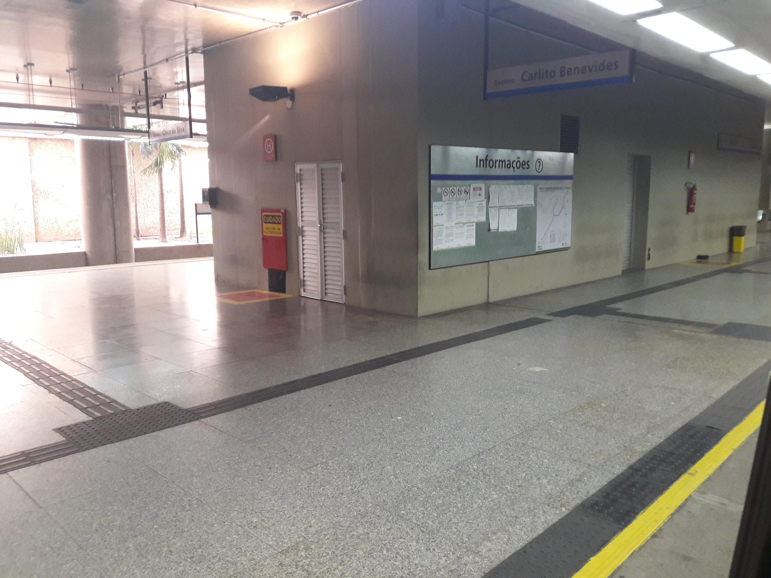 Stanice São Benedito.