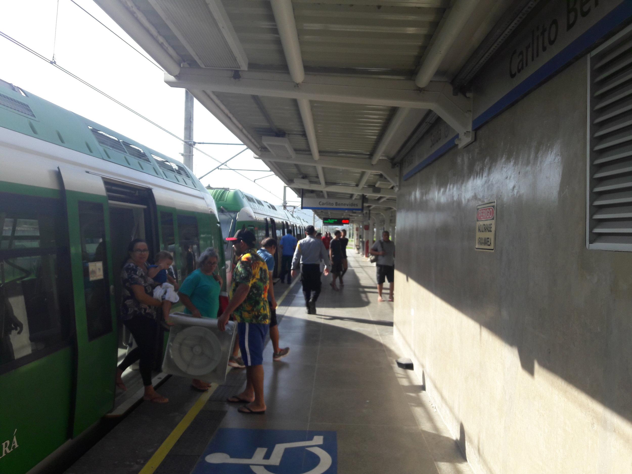 Konečná stanice Carlos Benevides.