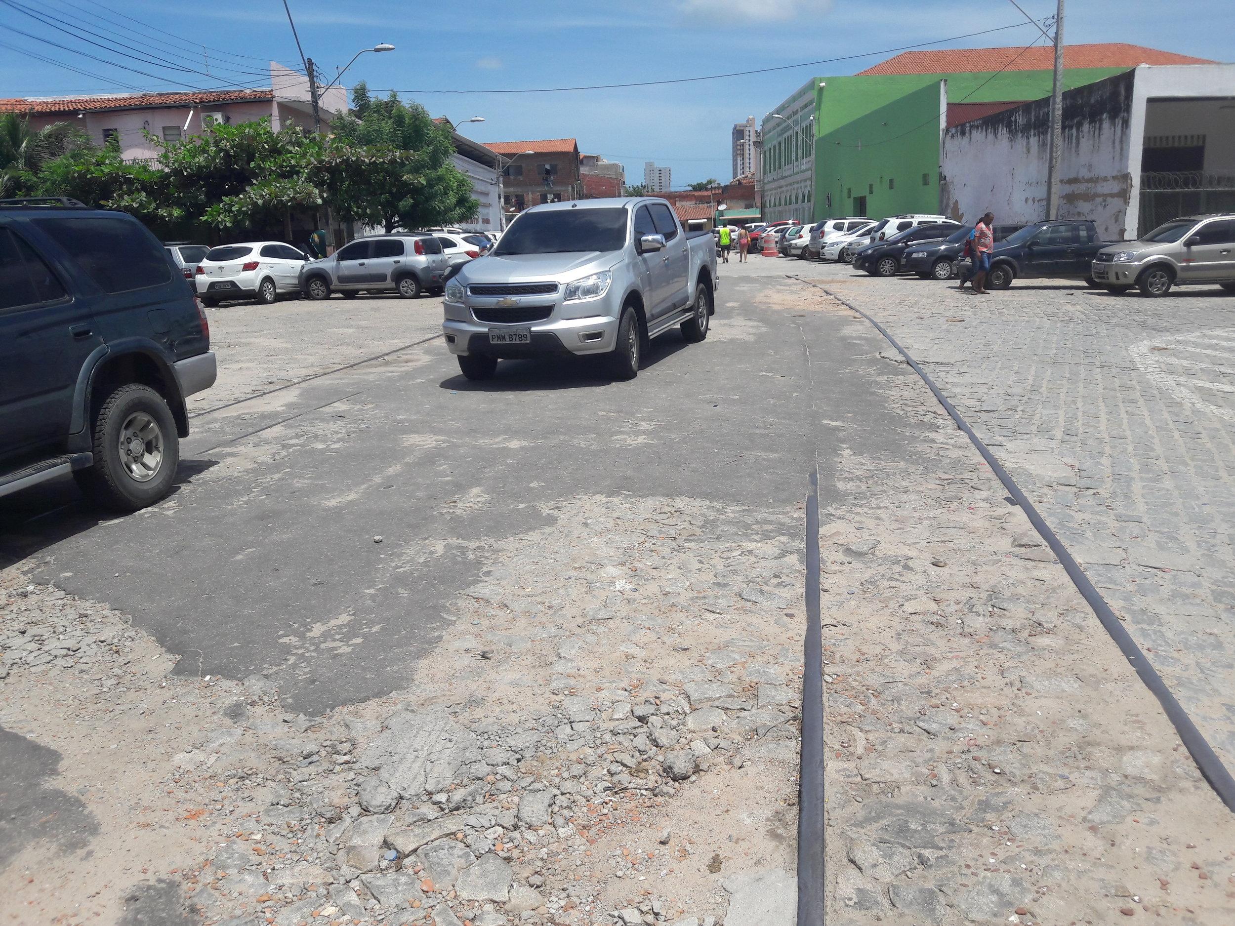 V centru Fortalezy byly kdysi koleje železniční i tramvajové. Letos přišla Fortaleza s tím, že by do města zavedla historickou tramvajovou linku.