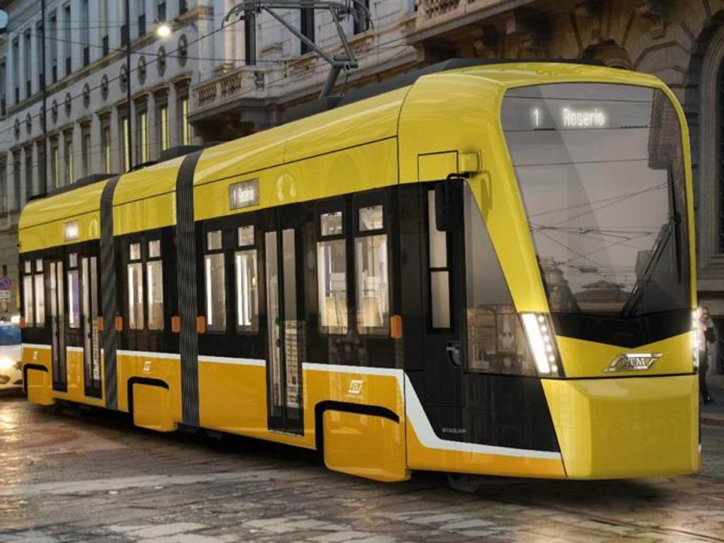 Tramvaj Tramlink S3 Leo pro Milan. (foto: Stadler)