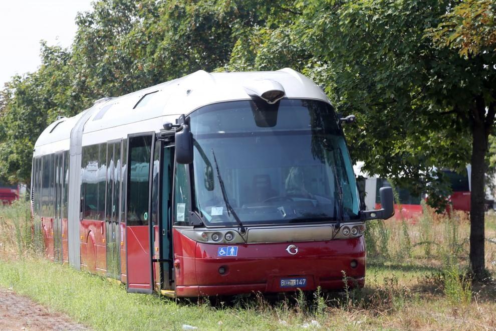 Na snímku z roku 2018 vidíme opuštěný Civis. (foto: autobusweb.com)