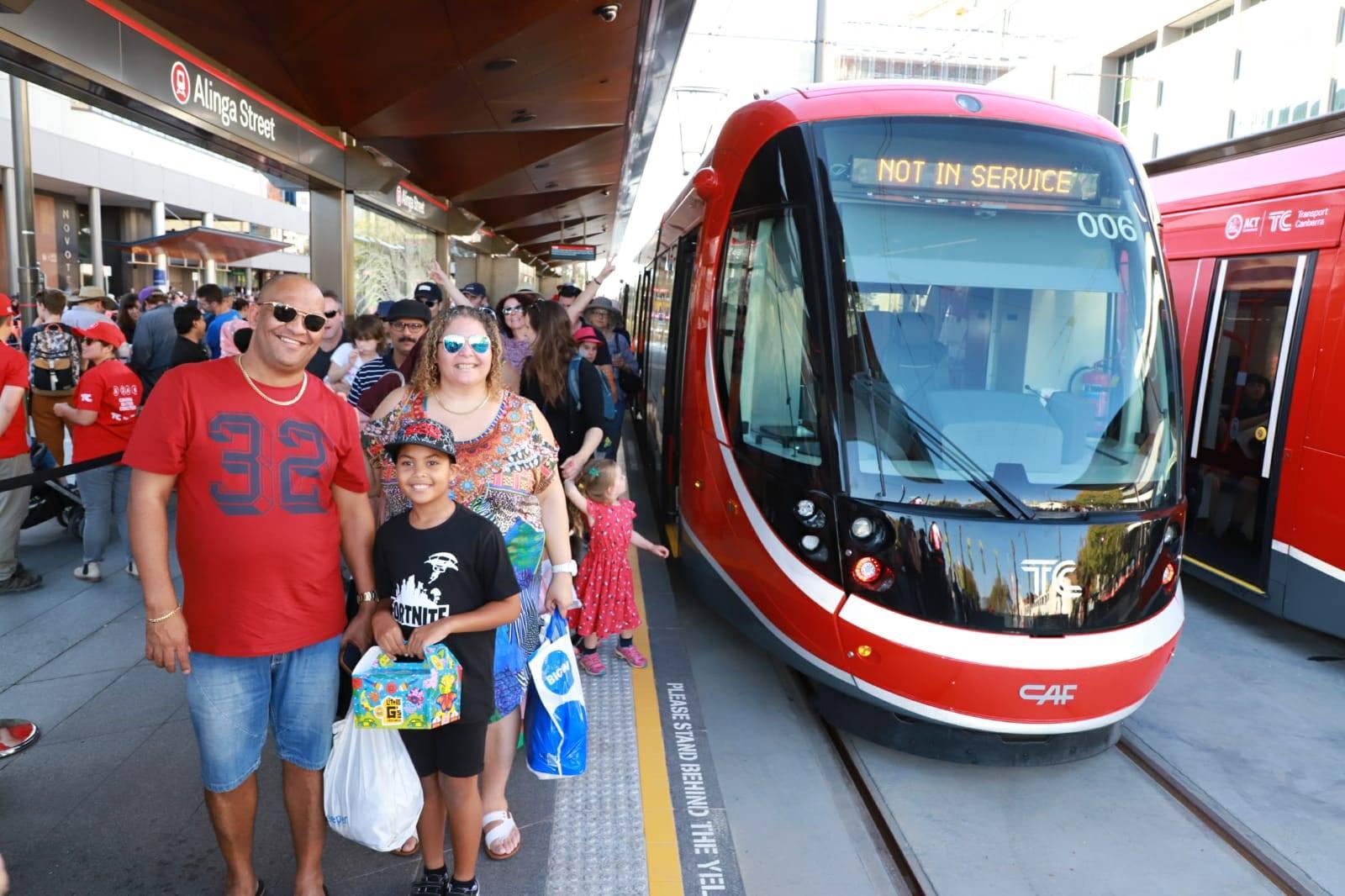 To je radosti… (foto: Canberra Metro)