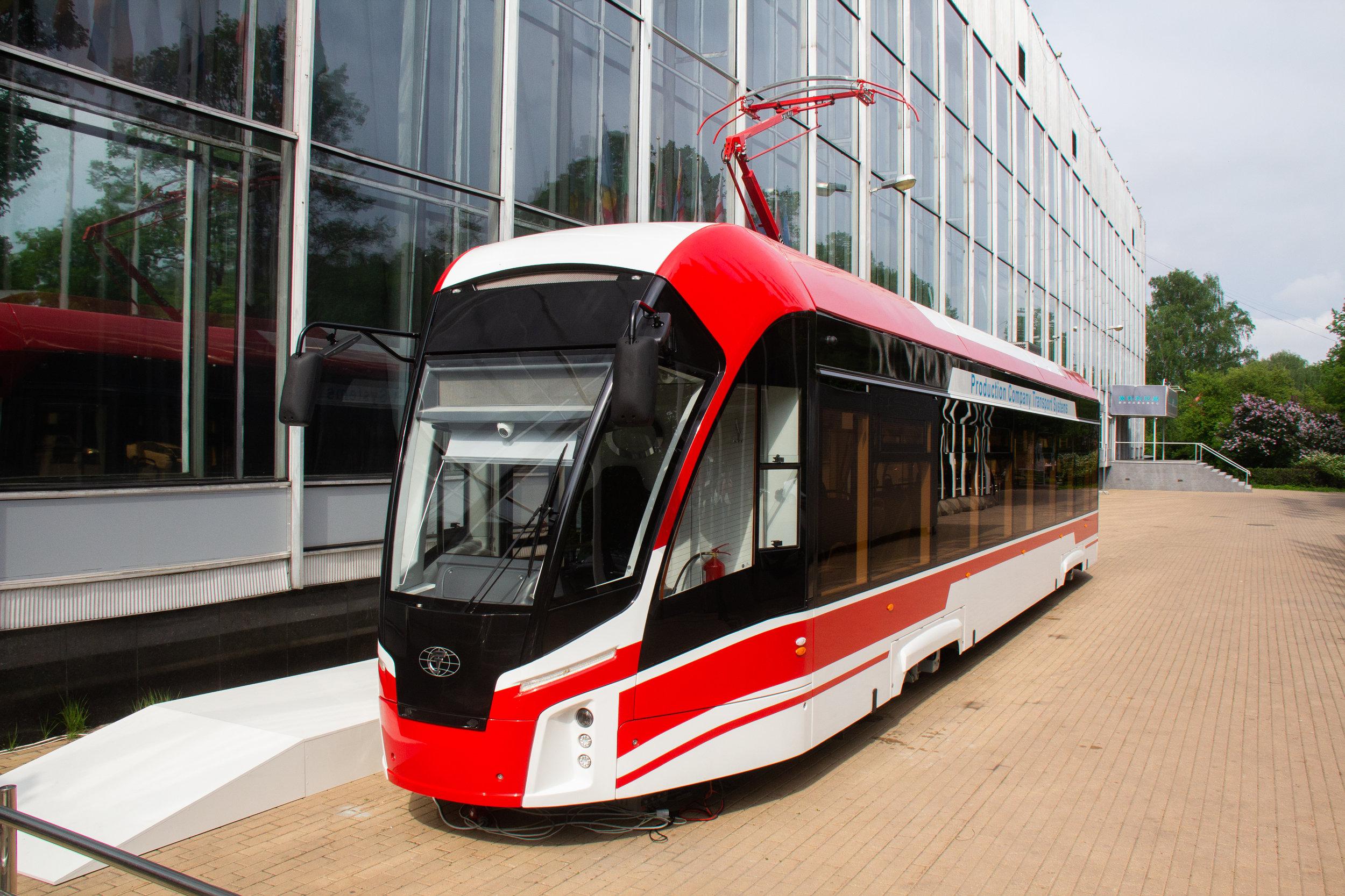 Lvíček je vyráběn společností Transportnyje Sistěmy. (foto: M. V. Fandjušin)