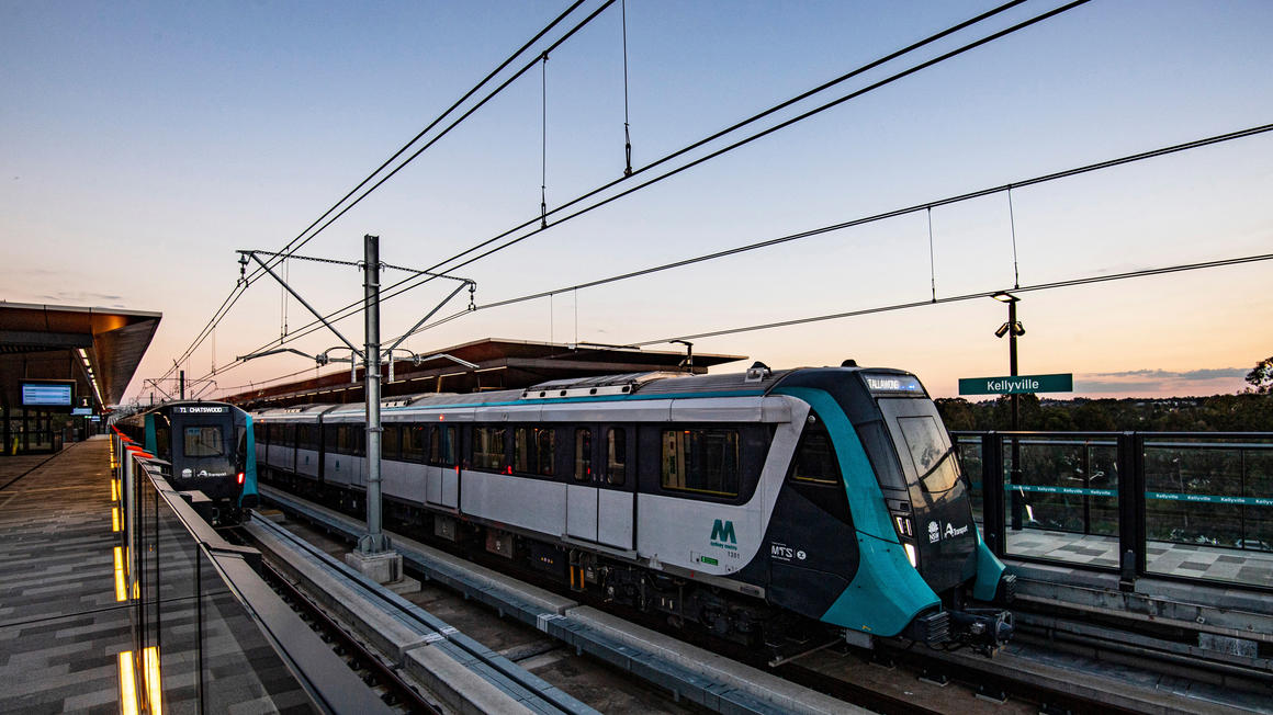 Soupravy Alstom Metropolis v Sydney. (foto: Alstom)