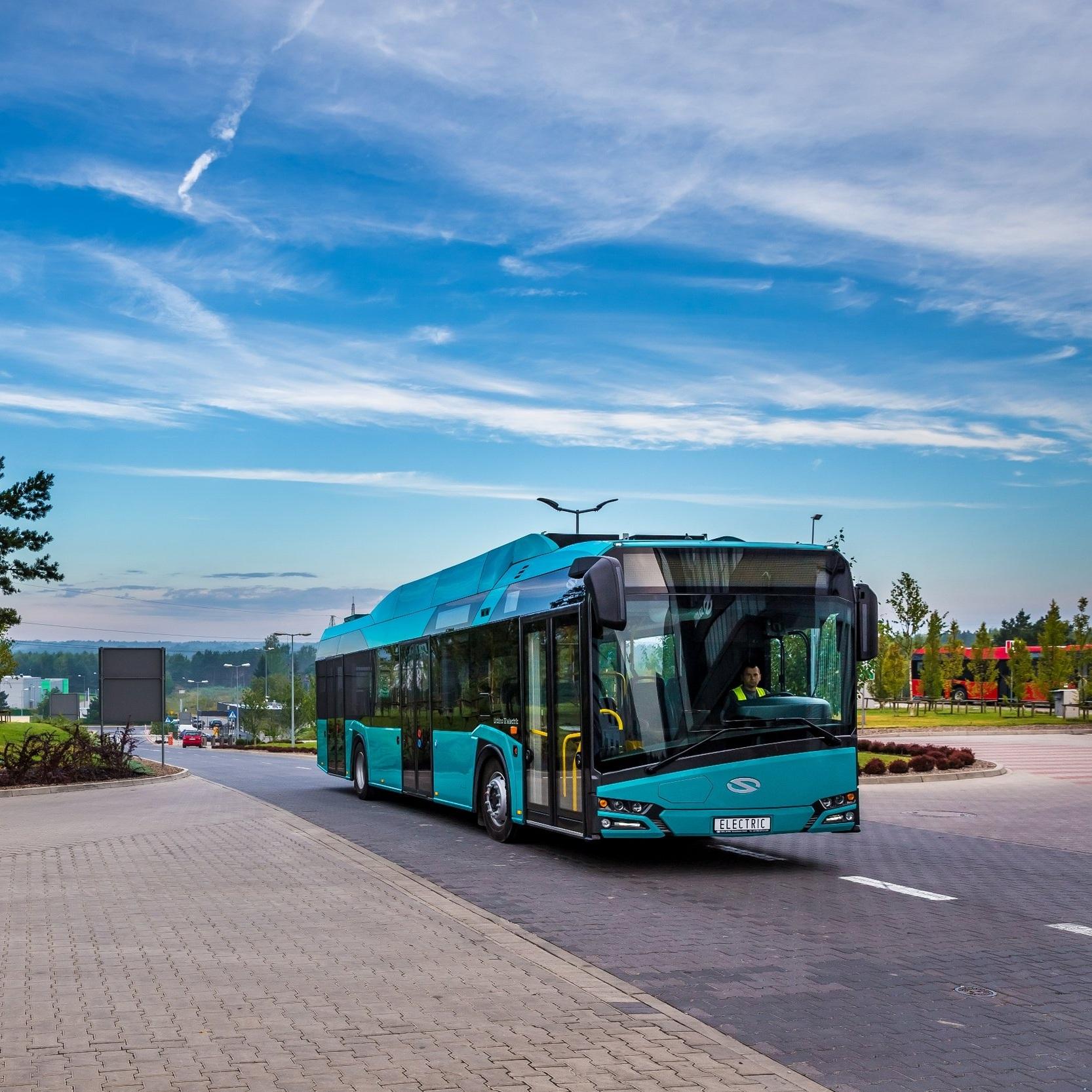 V Bolzanu se můžeme už dnes potkat s elektrobusy od Solarisu. Nyní přibudou i vodíkové autobusy. (ilustrační foto: Solaris Bus & Coach)