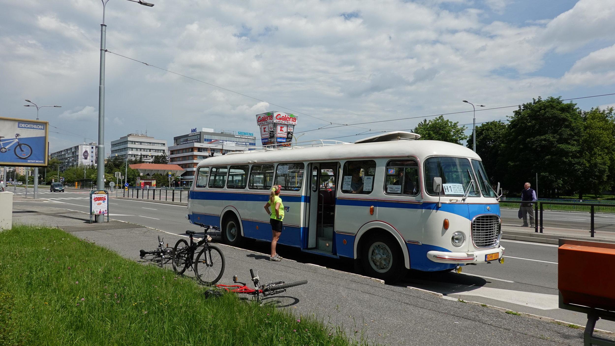 Tímto krasavcem se budete moci svézt na lince A1 v rámci Košického trolejbusového dne. (foto: Martin Schwarz)