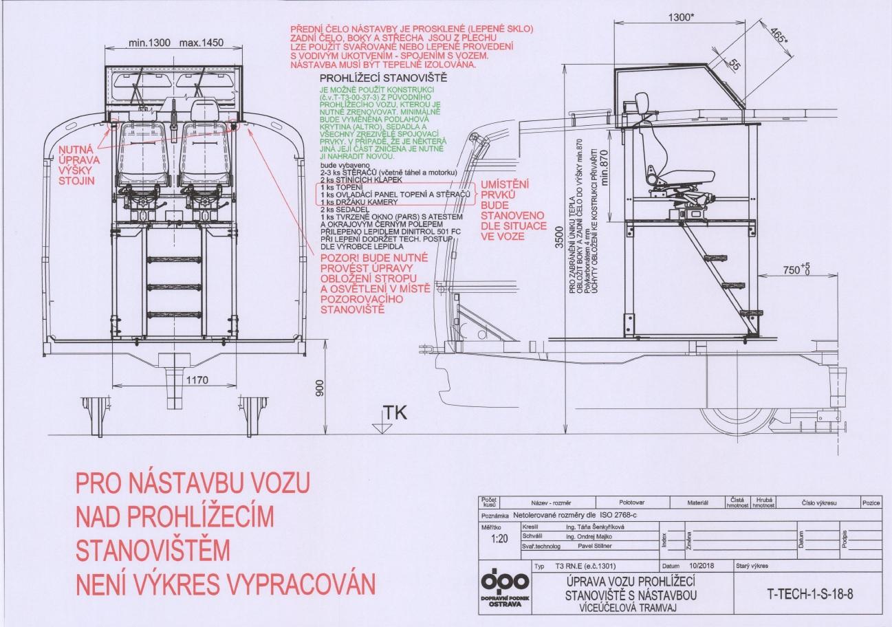 Umístění nástavby v interiéru. (zdroj: DPO)