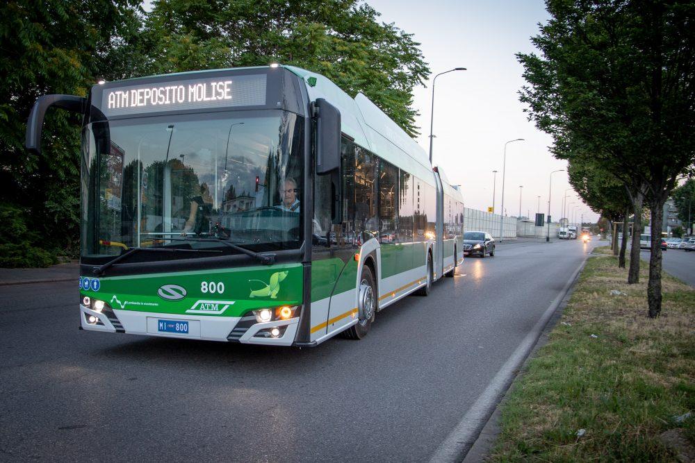 První z 80 nových Trollin pro Milán. (zdroj: Sustainable-bus.com)